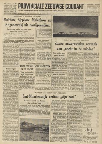 Provinciale Zeeuwse Courant 1957-07-04