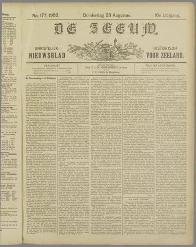 De Zeeuw. Christelijk-historisch nieuwsblad voor Zeeland 1902-08-28