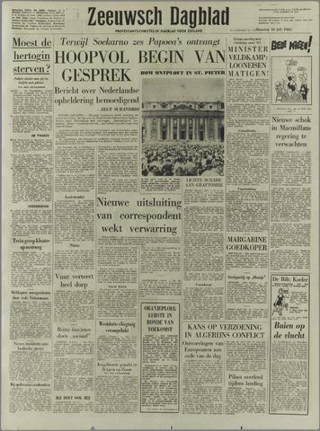 Zeeuwsch Dagblad 1962-07-16