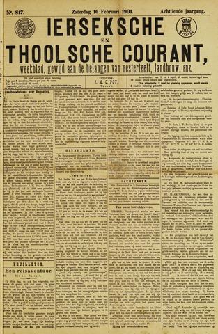 Ierseksche en Thoolsche Courant 1901-02-16