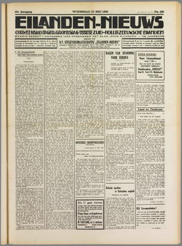 Eilanden-nieuws. Christelijk streekblad op gereformeerde grondslag 1938-05-25