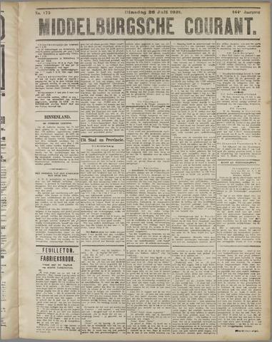 Middelburgsche Courant 1921-07-26