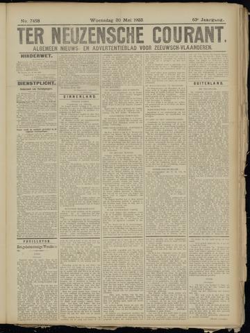 Ter Neuzensche Courant. Algemeen Nieuws- en Advertentieblad voor Zeeuwsch-Vlaanderen / Neuzensche Courant ... (idem) / (Algemeen) nieuws en advertentieblad voor Zeeuwsch-Vlaanderen 1923-05-30
