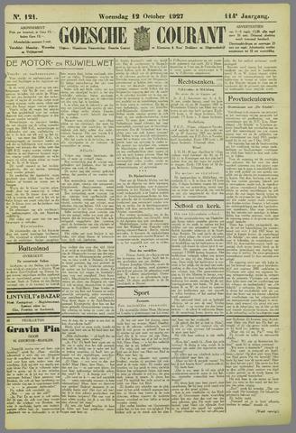 Goessche Courant 1927-10-12