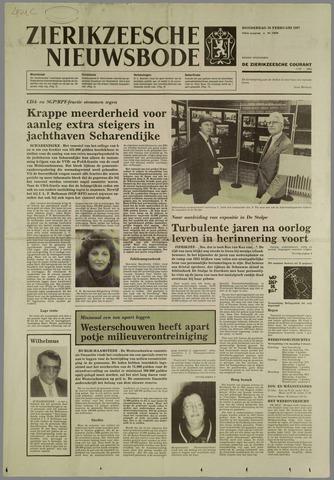 Zierikzeesche Nieuwsbode 1987-02-26