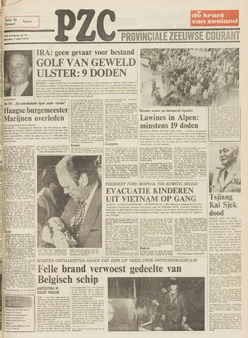 Provinciale Zeeuwse Courant 1975-04-07