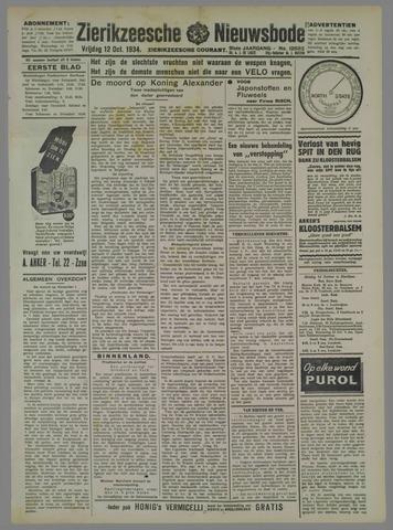Zierikzeesche Nieuwsbode 1934-10-12
