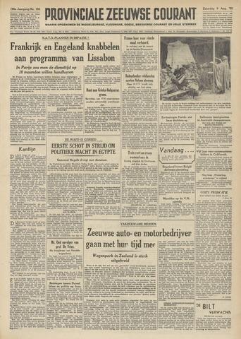 Provinciale Zeeuwse Courant 1952-08-09