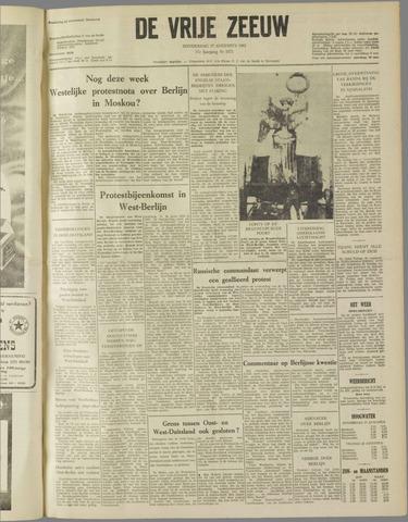 de Vrije Zeeuw 1961-08-17