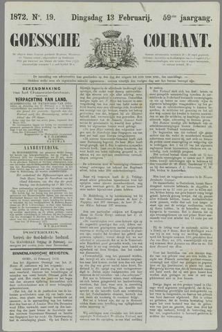 Goessche Courant 1872-02-13