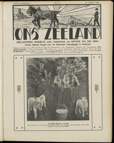 Ons Zeeland / Zeeuwsche editie 1929-03-30