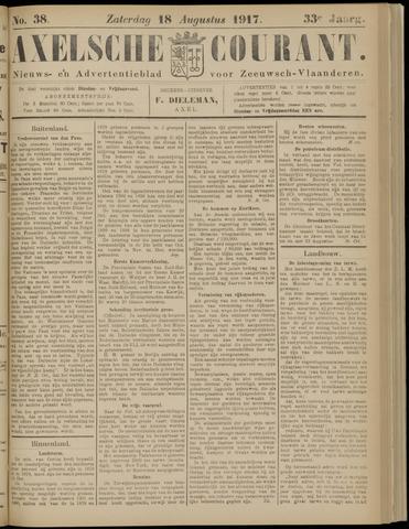 Axelsche Courant 1917-08-18