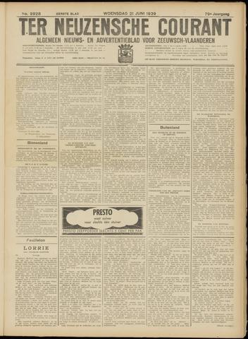 Ter Neuzensche Courant. Algemeen Nieuws- en Advertentieblad voor Zeeuwsch-Vlaanderen / Neuzensche Courant ... (idem) / (Algemeen) nieuws en advertentieblad voor Zeeuwsch-Vlaanderen 1939-06-21