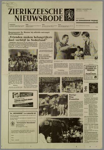 Zierikzeesche Nieuwsbode 1985-08-09