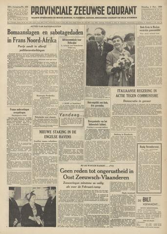 Provinciale Zeeuwse Courant 1954-11-02