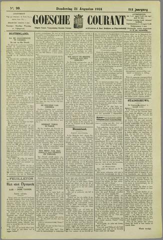 Goessche Courant 1924-08-21