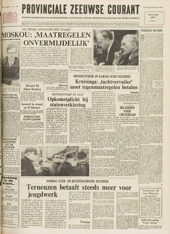 Provinciale Zeeuwse Courant 1970-02-04