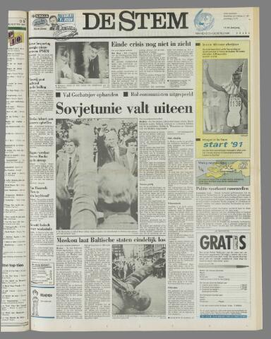 de Stem 1991-08-26