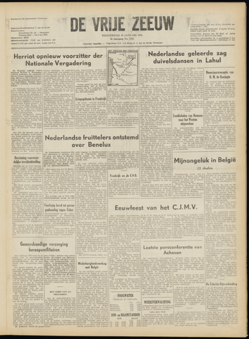 de Vrije Zeeuw 1953-01-15