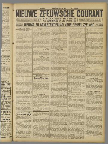 Nieuwe Zeeuwsche Courant 1925-04-30