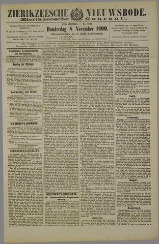 Zierikzeesche Nieuwsbode 1900-11-08