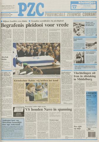Provinciale Zeeuwse Courant 1995-11-07