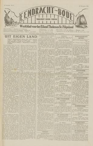 Eendrachtbode (1945-heden)/Mededeelingenblad voor het eiland Tholen (1944/45) 1949-11-25