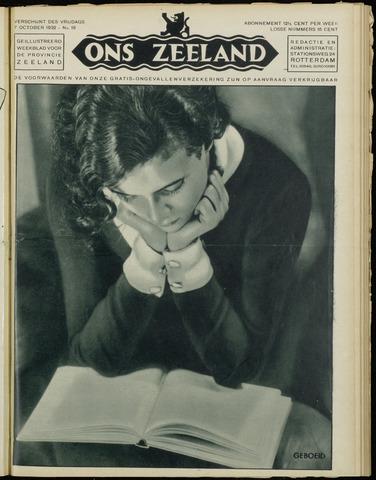 Ons Zeeland / Zeeuwsche editie 1932-10-07