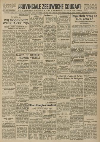 Provinciale Zeeuwse Courant 1947-06-09