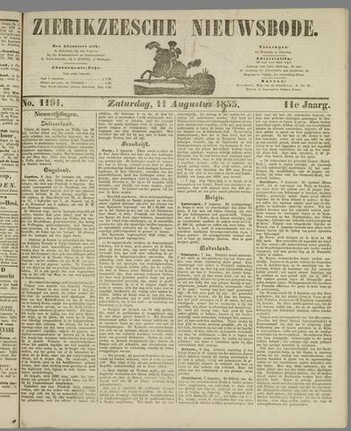 Zierikzeesche Nieuwsbode 1855-08-11