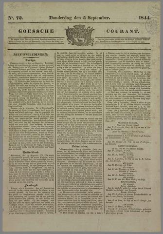 Goessche Courant 1844-09-05