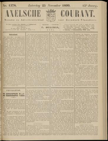 Axelsche Courant 1899-11-25