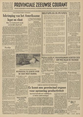 Provinciale Zeeuwse Courant 1954-03-16