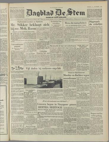 de Stem 1950-11-21