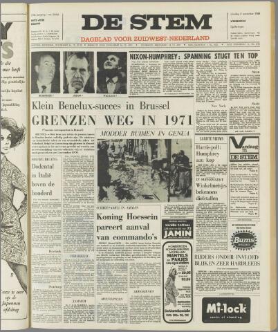 de Stem 1968-11-05