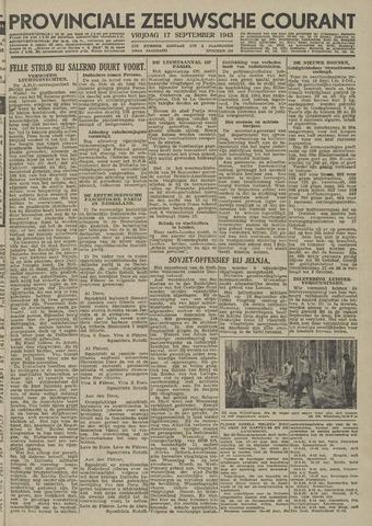 Provinciale Zeeuwse Courant 1943-09-17