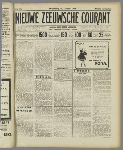 Nieuwe Zeeuwsche Courant 1914-01-29