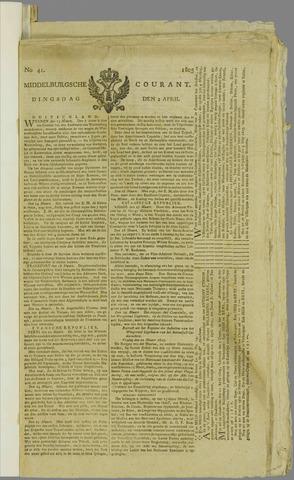 Middelburgsche Courant 1805