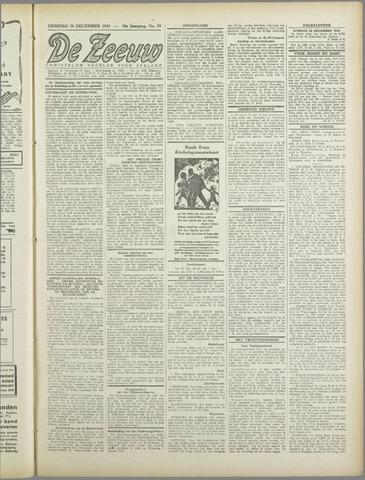 De Zeeuw. Christelijk-historisch nieuwsblad voor Zeeland 1943-12-28