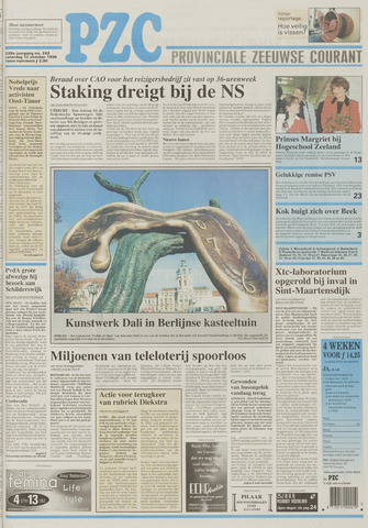 Provinciale Zeeuwse Courant 1996-10-12