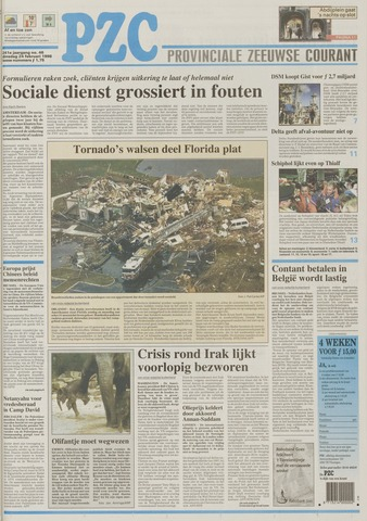 Provinciale Zeeuwse Courant 1998-02-24