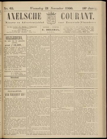 Axelsche Courant 1900-11-21