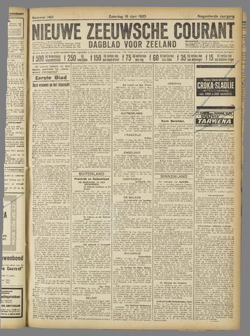 Nieuwe Zeeuwsche Courant 1923-06-16
