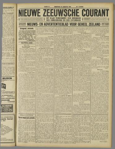 Nieuwe Zeeuwsche Courant 1926-08-26