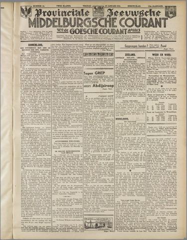 Middelburgsche Courant 1933-01-27