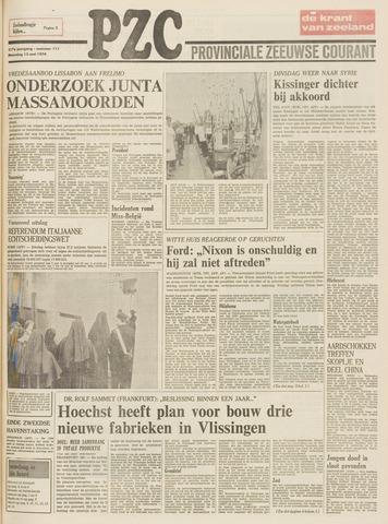 Provinciale Zeeuwse Courant 1974-05-13