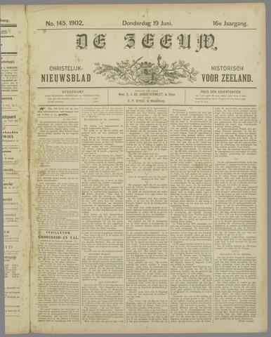 De Zeeuw. Christelijk-historisch nieuwsblad voor Zeeland 1902-06-19