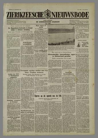 Zierikzeesche Nieuwsbode 1954-08-24