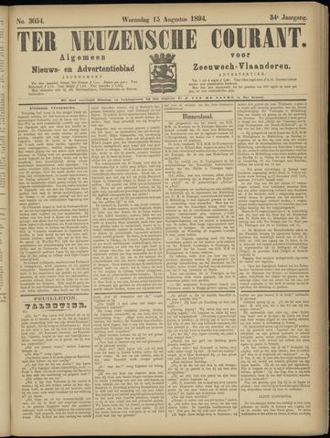 Ter Neuzensche Courant. Algemeen Nieuws- en Advertentieblad voor Zeeuwsch-Vlaanderen / Neuzensche Courant ... (idem) / (Algemeen) nieuws en advertentieblad voor Zeeuwsch-Vlaanderen 1894-08-15