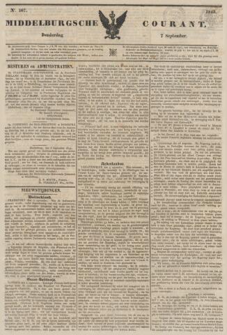 Middelburgsche Courant 1843-09-07